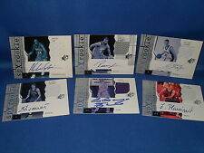 2003 UD BASKETBALL - SPx (6) AUTOGRAPHED NBA JERSEY CARDS / ROOKIES *LQQK*