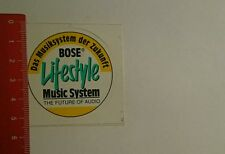 Aufkleber/Sticker: Bose Lifestyle Music System (30101649)