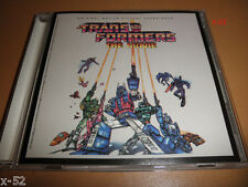 TRANSFORMERS animated 80's movie SOUNDTRACK cd VINCE DiCOLA weird al STAN BUSH