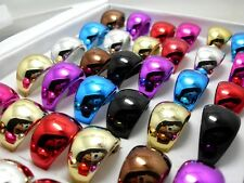 15pcs Nice Women Men Acrylic Rings Wholesale Fashion Jewelry Job Lots