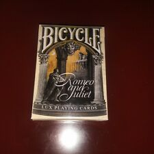 Bicycle Romeo & Juliet Rare Limited Custom Playing Cards - William Shakespeare $
