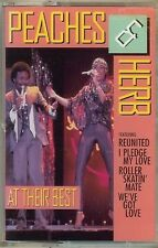 PEACHES & HERB - AT THEIR BEST - CASSETTE - NEW - SEALED
