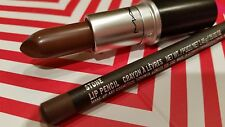 MAC Cosmetics Kylie Jenner Lip STONE Lipsticks + Lip Pencil Duo 2 piece Set BNIB