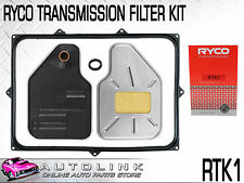 RYCO AUTO TRANS FILTER KIT SUIT FORD FALCON AU 4.0lt & V8 INC XR6 XR8 1999-2002