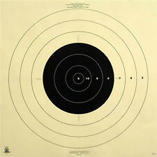 """SR-42 Official NRA 200 Yd Rapid Fire High Power Rifle Target, 28"""" x 28"""" (6 pack)"""
