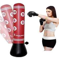 Punching Bag Stand Power Tower Inflatable Punching Bags Speed Boxing Training