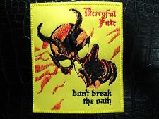 MERCYFUL FATE BLACK METAL PATCH,KING DIAMOND