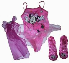 Disney Minnie Mouse Ballet Set 2 To 4 Years Girls Costume Brand New Gift