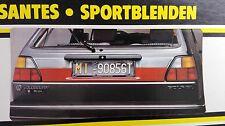 VW Golf Mk2 GTI 16V G60 Rallye Oettinger Sacex Euro Tail Lights Panel/Heckblende