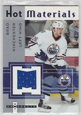 50 different Edmonton Oilers cards with Brad Winchester jersey card + Bonus crds