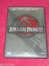 DVD Jurassic Park III / JURASSIC PARK 3 / TBE !!