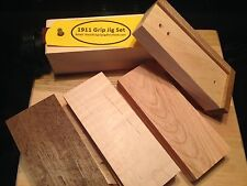 1911 Grip Making Jigs - Grip Making Made Easy!  Free Walnut, Maple and Cherry