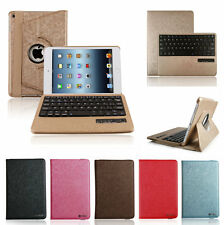Luxury 360 Rotating Swivel Bluetooth Keyboard Leather Case Cover For iPad mini 4
