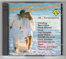 (GZ285) Various Artists, Remember The Saturdaynights - 1992 Double CD