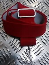 Genuine British Army-Issue Physical Training Instructor (PTI) Red S Snake Belt