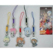 Set 5 Strap / Phonestrap Magical Girl Lyrical Nanoha