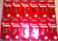 LONDON 2012 OLYMPICS COCA COLA  TELEPHONE BOXES SET OF 12 PIN BADGES