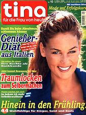 Zeitschrift TINA Nr. 10 v 1999, Gienießer-Diät aus Italien; Traumlocken; Rezepte