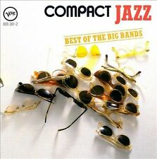 The Compact Jazz: Best of the Big Bands by Various Artists (CD, Mar-1988, Verve)