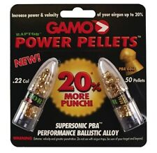 50 Gamo PBA Gold Raptor Power Pellets - 22 Caliber Air Rifle