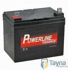 Powerline 12V 33AH batterij voor scootmobiel ROLSTOEL