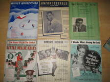 Vintage Sheet Music-Lot of 6-GUC