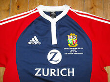 BRITISH LIONS 2005 Tour Rugby Union MATCH DETAIL EMBROIDERY AWAY Shirt Jersey L