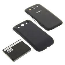 Akku für Samsung Galaxy S3 I9300 Akku Li-Ion fat mit Rückdeckel blau 3300mAh