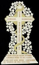 santino merlettato-holycard-canivet LA CROCE SIMBOLO DI SALVEZZA