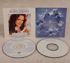 My Best Friend's Wedding Soundtrack & The Wedding Collection  CDs & Inserts Only