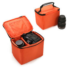 Small Waterproof DSLR SLR Camera Insert Padded Partition Lens Bag Carry Case