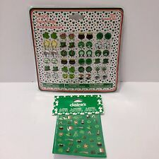 Claire's St Patricks Day Mini Stickers & 24 Pairs of Sticker Earring Set NIP