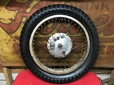 Honda CL72 250 Scrambler Front Wheel Hub  CL 72 77  Brake Hub Plate Axle