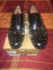 New Mens Christian Louboutin Bruno Spikes Size 10