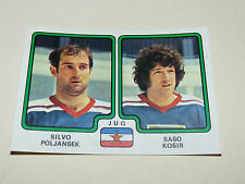 # 399 POLJANSEK KOSIR JUGOSLAVIJA PANINI HOCKEY 79 ICE GLACE 1979