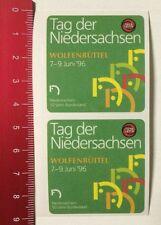ADESIVI/Sticker: TOTO-LOTTO-Giorno della Bassa Sassonia Wolfenbüttel 96 (280316113)
