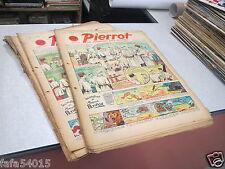 JOURNAL HEBDOMADAIRE PERIODIQUE PIERROT ANNEE 1940 LOT DE 18 NUMEROS *