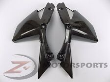 2010-2013 Kawasaki Z1000 Upper Side Turn Signal Panel Fairing 100% Carbon Fiber