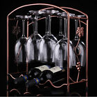 NEW Wine Glass Rack Hanging Upside Down Cup Holder Hanging Goblets Wine Rack 189