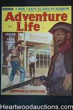 """""""Adventure Life"""" September 1958 Joyce Miles, Clarence Doore; Ray Johnson; Frate"""