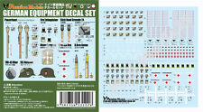 Passion Models 1/35 WWII German Equipment Decal Set   #P35D002