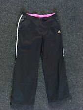 LADIES ADIDAS LONDON 2012 OLYMPICS CLIMA 365 TRACK BOTTOMS SIZE 16