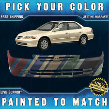 NEW Painted to Match - Front Bumper Cover Replacement For 2001 2002 Honda Accord