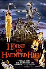House On Haunted Hill Vincent Price Poster Mint