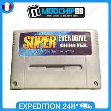 Everdrive Super Nintendo SNES SFC Famicom Flash Cart Cartouche + Carte SD 8 Go