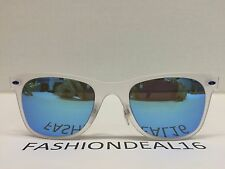 RayBan Authentic LightRay Clear/Blue Mirrored RB4210 646/55 Sunglasses