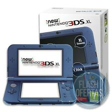 NEW NINTENDO 3DS XL AZUL METALIZADO Consola