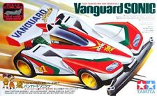 Tamiya 19407 1/32 Mini 4WD Car Kit Super 1 Chassis JR Vanguard Sonic Let's & Go