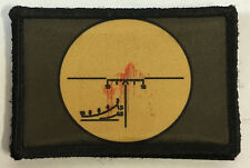 Russian PSO Dragonov Sniper Scope Morale Patch Tactical Milspec Molle AK47