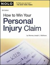 How to Win Your Personal Injury Claim, Matthews Attorney, Joseph, Acceptable Boo